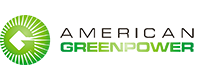 American GreenPpwer Logo White Transparent